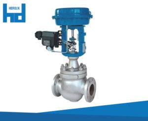 komponen sistem hidrolik control valve