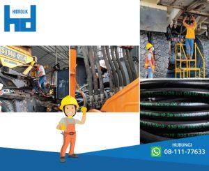 selang hidrolik konstruksi