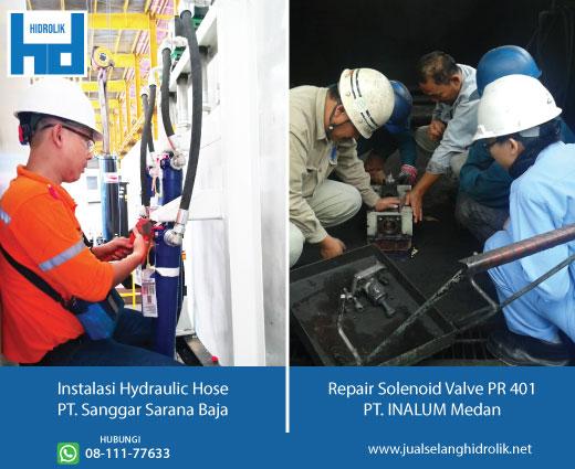instalasi layanan hidrolik