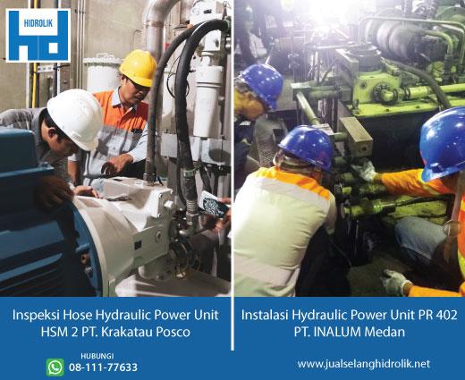 layanan instalasi hidrolik